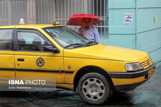 معرفی تاکسی های غیرفعال در روزهای بارندگی به 1888