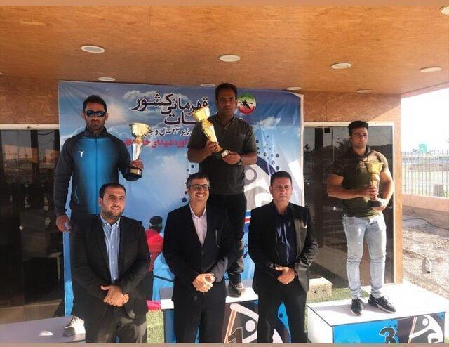 سومی خوزستان در مسابقات قایقرانی کشور