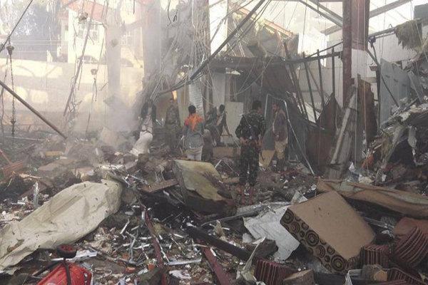حملات گسترده سعودی ها به الحدیده یمن