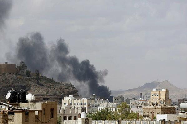 حملات توپخانه ای گسترده متجاوزان سعودی به الضبیانی در یمن