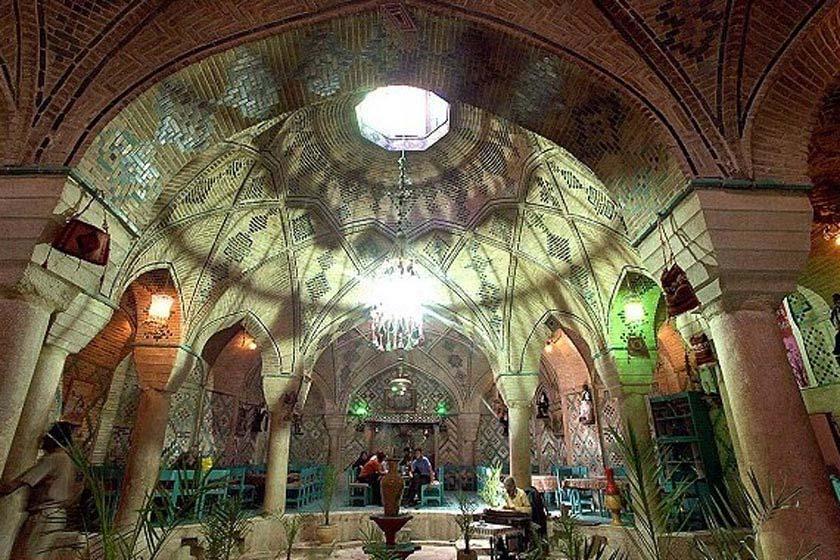 جذابیت و معماری حمام وکیل کرمان
