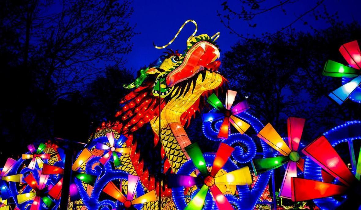 جشنواره فانوس در چین