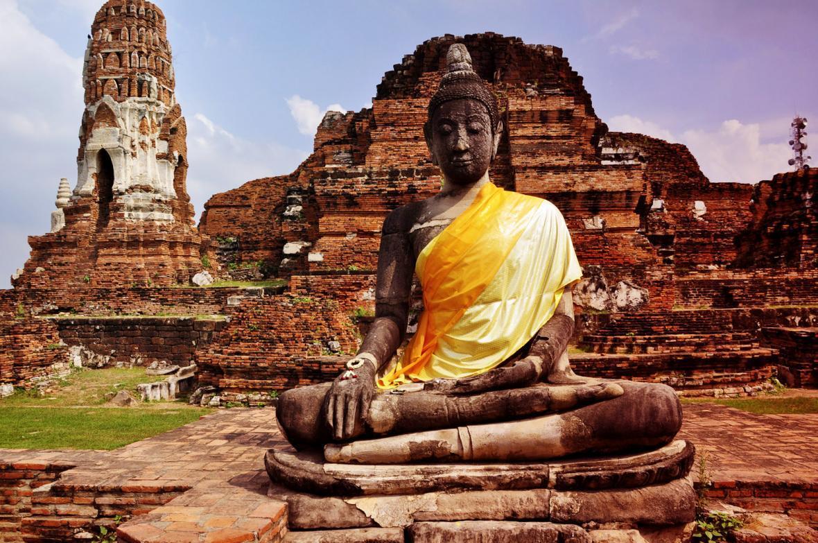 شهر تاریخی آیوتایا در تایلند