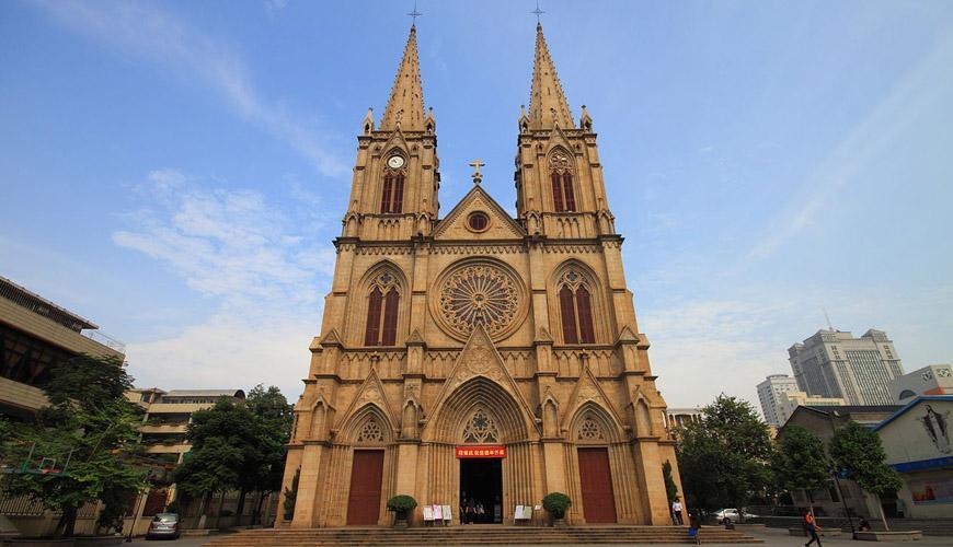 کلیسای جامع قلب مقدس در شهر گوانجو
