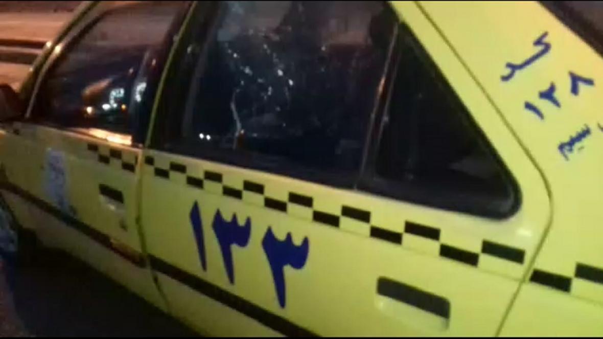 اقدام جالب راننده تاکسی برای جلوگیری از کرونا