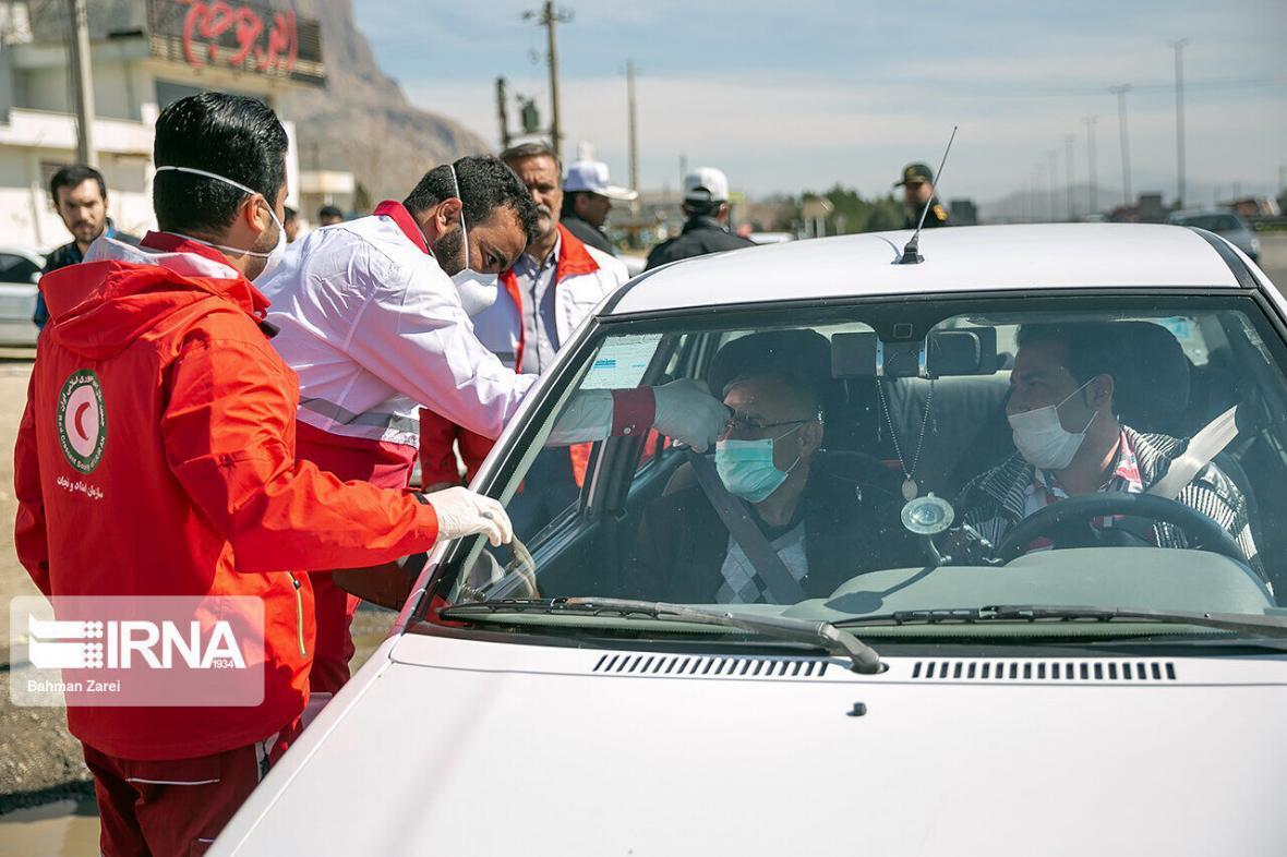 خبرنگاران هلال احمر سلامت هشت میلیون مسافر را غربالگری کرد
