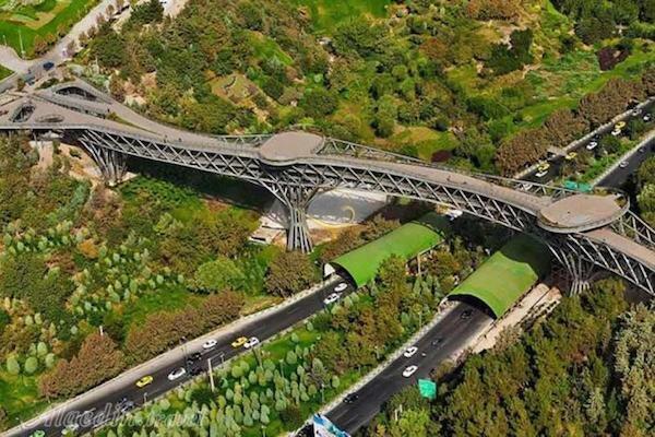 پل طبیعت هم تعطیل شد