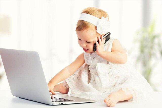 استرس خانواده مدت زمان استفاده از صفحه نمایش در بچه ها نوپا را افزایش می دهد