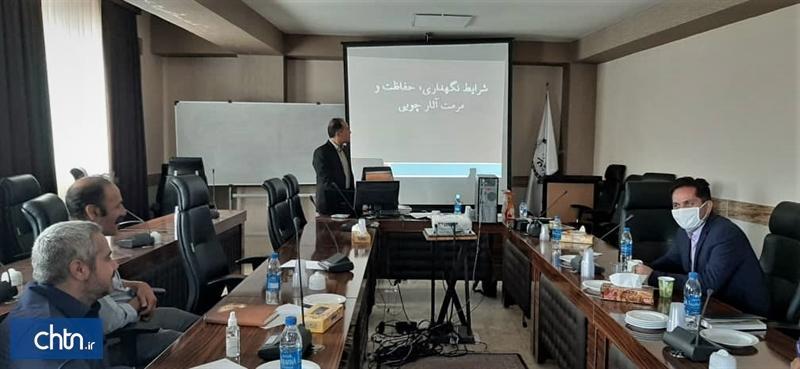 برگزاری دوره آموزشی آشنایی با اصول و مبانی بازسازی و حفاظت آثار چوبی در تبریز