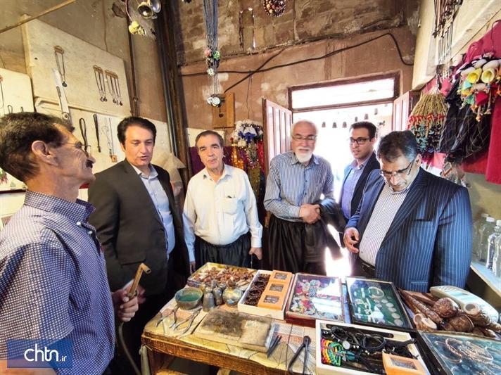 افتتاح 3 فروشگاه صنایع دستی در باغ شهر نظنز