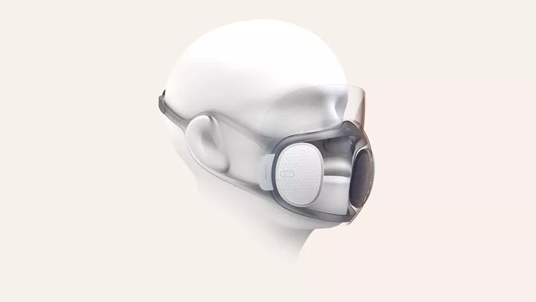 این ماسک N95 شفاف خودش را ضدعفونی کرده و اجازه می دهد با Face ID گوشی را باز کنید