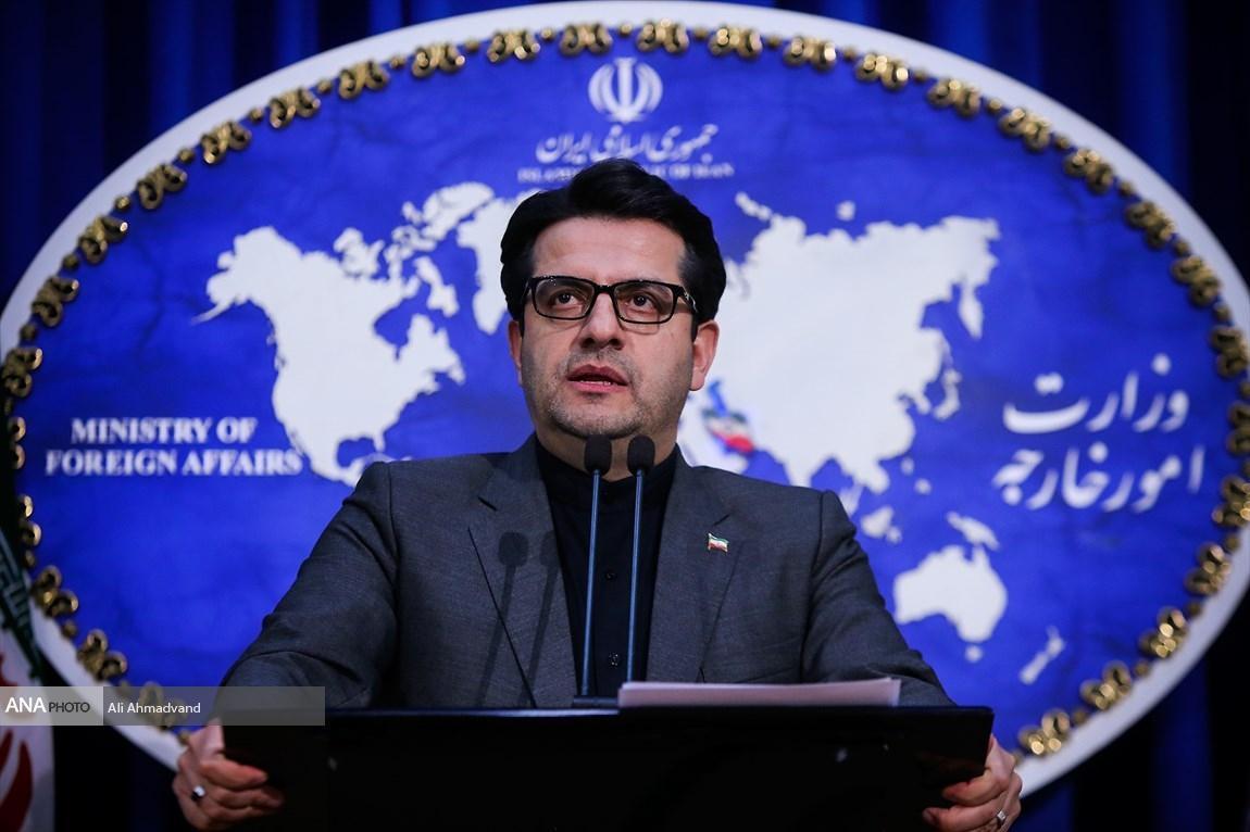 واکنش سخنگوی وزارت خارجه به ادعای مضحک آمریکایی ها