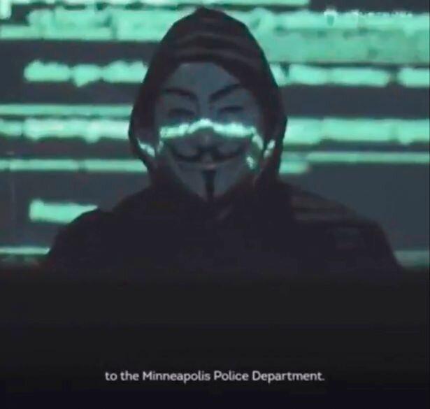 هکرهای انانیمس پلیس مینیاپولیس را تهدید کردند گزارش تصویری از شورش در آمریکا