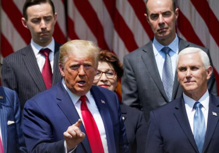 خشم آمریکا از سخنان ترامپ ، این یک روز عظیم برای جورج فلوید است