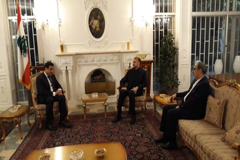آنالیز پیامدهای انفجار بیروت در جلسه ای در منزل سفیر لبنان در ایران