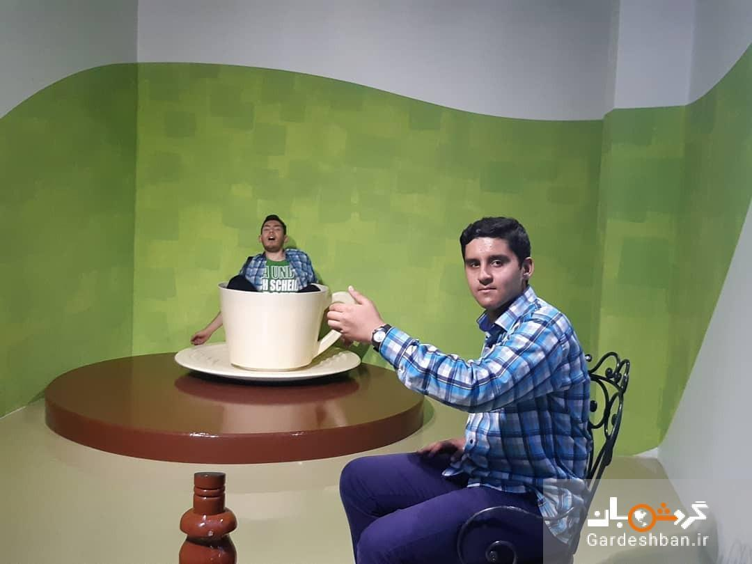 اولین موزه خطای دید در ایران