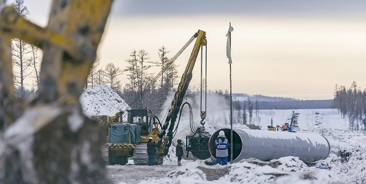 خط لوله گاز روسیه قیمت گاز اروپا را کاهش می دهد