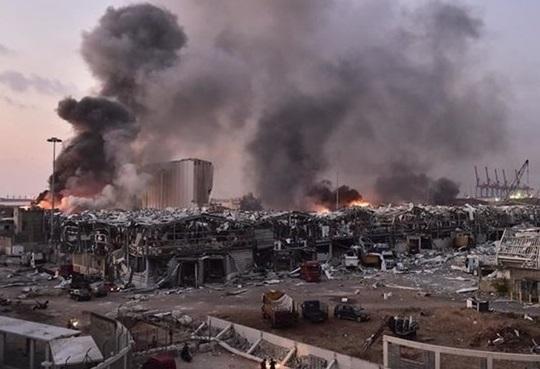 خسارت ناشی از انفجار بیروت 15 میلیارد دلار برآورد شد