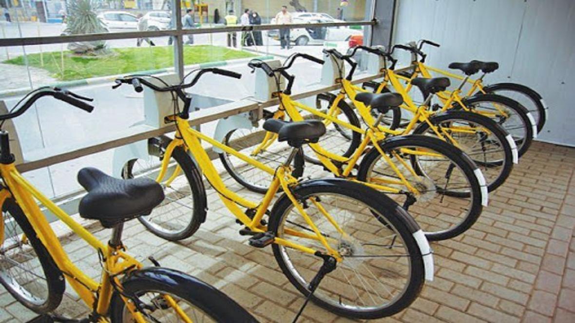 اجرای طرح بایدو دوچرخه ایست برای شهروندان مشهدی