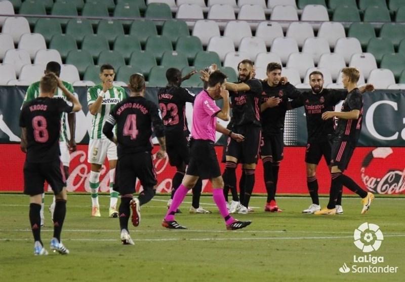 لالیگا، رئال مادرید اولین پیروزی فصل را در خانه بتیس جشن گرفت
