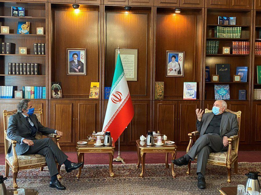 خبرنگاران نقطه روشن سفر رافائل گروسی به تهران