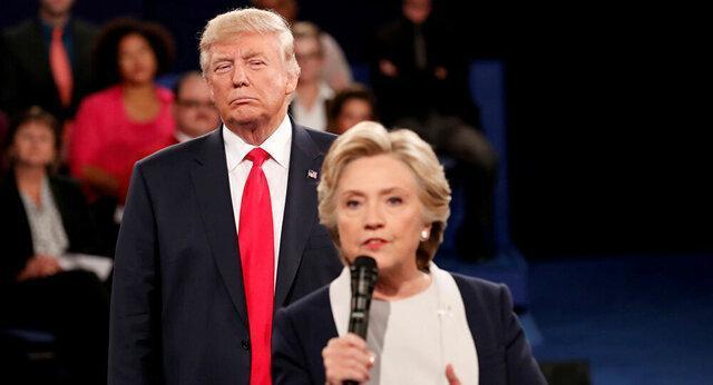 کلینتون: کاش به ترامپ گفته بودم خفه شو!