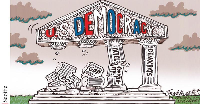 امریکا در راستا عبور از دموکراسی