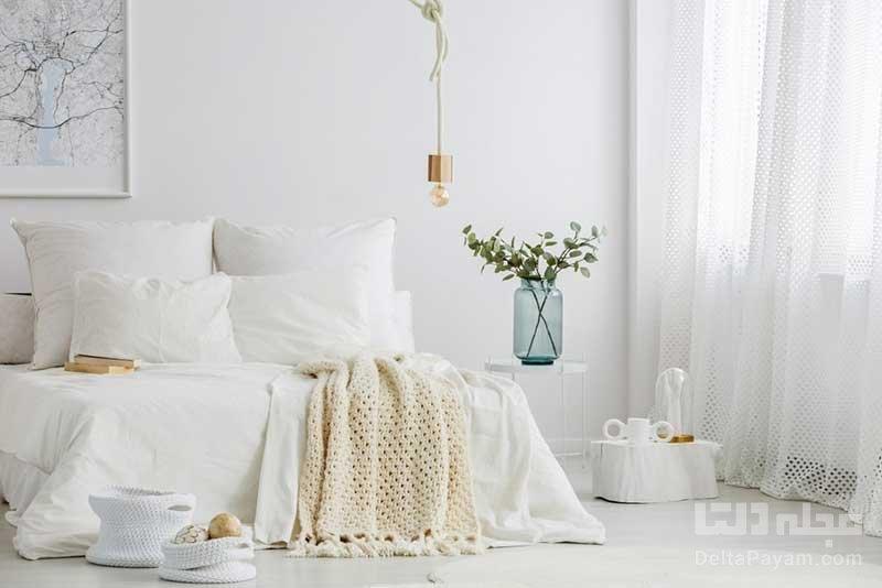 اتاق خوابی به سبک مینیمال