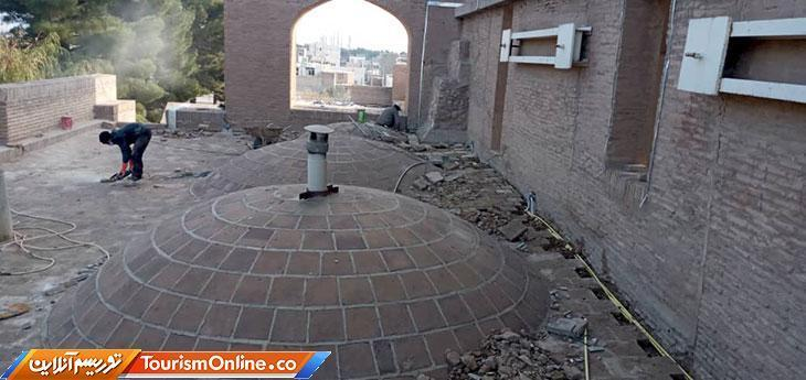 مسجد جامع قائن بازسازی شد