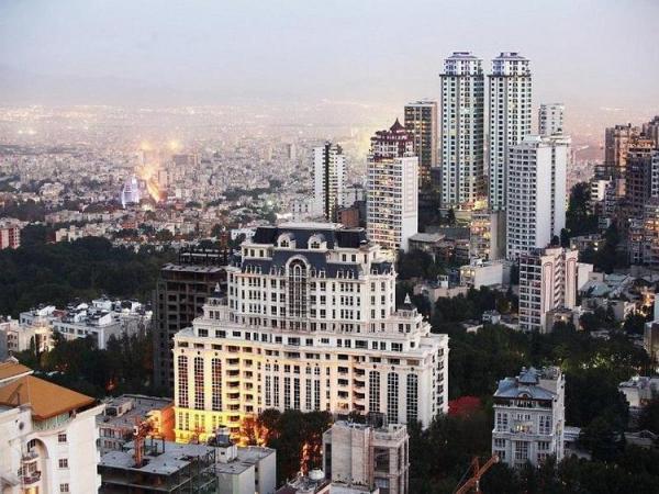 قیمت آپارتمان در پر معامله ترین مناطق تهران