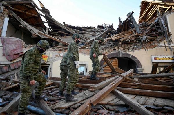 تایید مرگ هفت نفر در پی وقوع زلزله در مرکز کرواسی