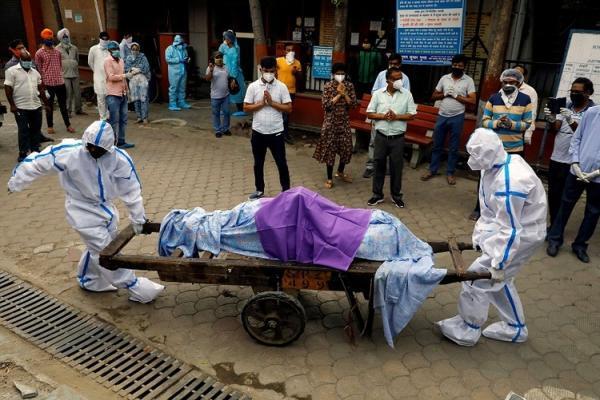 نظام سلامت هند در حال فروپاشی؛ 2624 فوتی کرونا در 24 ساعت