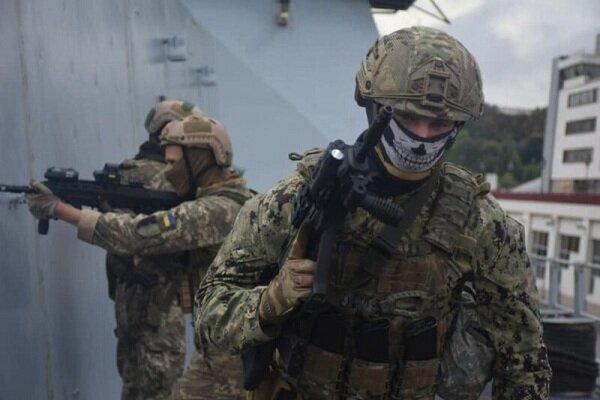 ارتش اوکراین و ناتو رزمایش مشترکی را برگزار می نمایند