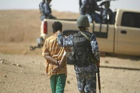 پستچی داعش در کرکوک به دام افتاد