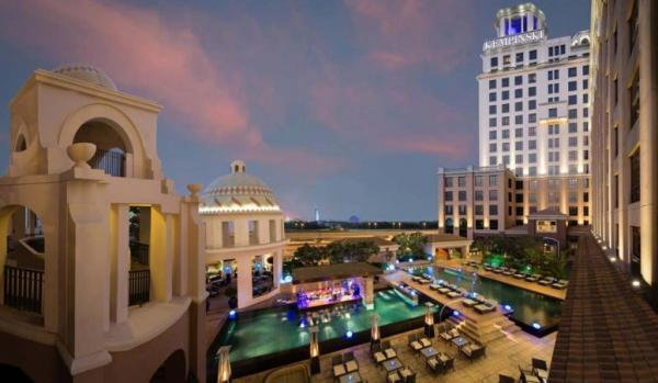 معرفی هتل 5 ستاره کمپنیسکی امارات مال دبی