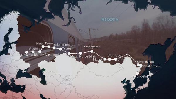 سفر در روسیه با قطار سراسری سیبری