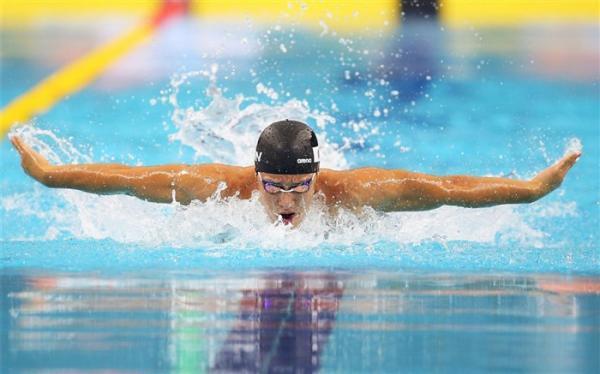 شناگر جوان ایران المپیکی شد