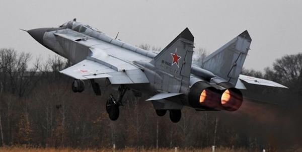 تور روسیه: رهگیری هدف هوایی از سوی میگ، 31 روسیه بر فراز بارنتس