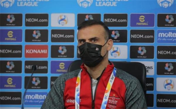 سید جلال حسینی: فردا مقابل تیمی سختکوش و با نظم بازی می کنیم